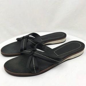 Salvatore Ferragamo Slip On Sandal Bow Italy 9 C